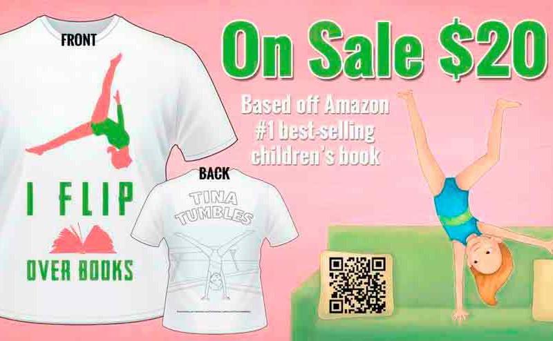 Tina Tumbles T-Shirt